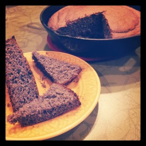 Purple Cornbread